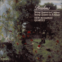Cover of CDA66651 - Brahms: String Quartets Op 51