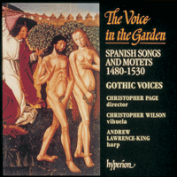 Cover of CDA66653 - The Voice in the Garden