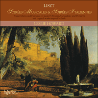 Cover of CDA66661/2 - Liszt: The complete music for solo piano, Vol. 21 � Soir�es musicales