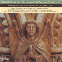 Cover of CDA66677 - Purcell: The Complete Anthems and Services, Vol. 7
