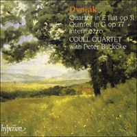Cover of CDA66679 - Dvor�k: String Quartet, Quintet & Notturno