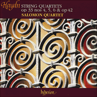 Cover of CDA66682 - Haydn: String Quartets Opp 33/4-6 & 42