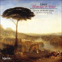 Cover of CDA66683 - Liszt: The complete music for solo piano, Vol. 23 � Harold in Italy