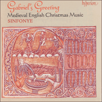 Cover of CDA66685 - Gabriel's Greeting � Medieval English Christmas Music