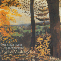 CDA66687 - English Music for Viola
