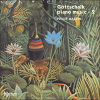Cover of CDA66697 - Gottschalk: Piano Music, Vol. 2