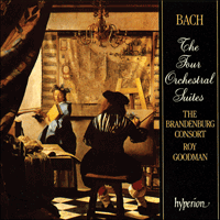 Cover of CDA66701/2 - Bach: The Four Orchestral Suites