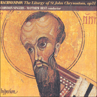 Cover of CDA66703 - Rachmaninov: The Divine Liturgy of St John Chrysostom