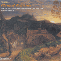 Cover of CDA66708 - Crusell: Clarinet Concertos