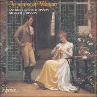 Cover of CDA66709 - In praise of Woman, English women composers