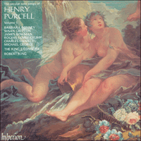 Cover of CDA66710 - Purcell: Secular solo songs, Vol. 1