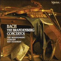 CDA66711/2 - Bach: The Brandenburg Concertos