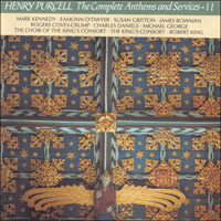 CDA66716 - Purcell: The Complete Anthems and Services, Vol. 11