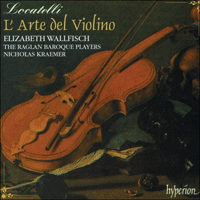 Cover of CDA66721/3 - Locatelli: L'Arte del Violino
