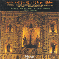 Cover of CDA66725 - Masters of The Royal Chapel, Lisbon