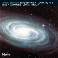 Cover of CDA66728 - Simpson: Symphonies Nos 3 & 5