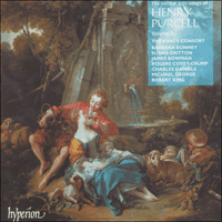 Cover of CDA66730 - Purcell: Secular solo songs, Vol. 3