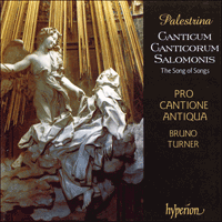 Cover of CDA66733 - Palestrina: Canticum Canticorum Salomonis � The Song of Songs