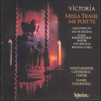 Cover of CDA66738 - Victoria: Missa Trahe me post te & other sacred music