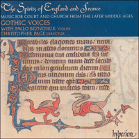 Cover of CDA66739 - The Spirits of England & France, Vol. 1