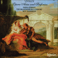 Cover of CDA66745 - Vivaldi: Opera Arias and Sinfonias