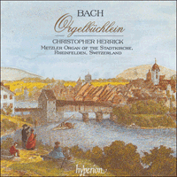 Cover of CDA66756 - Bach: Orgelb�chlein