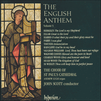 Cover of CDA66758 - The English Anthem, Vol. 5