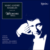 Cover of CDA66765 - Marc-Andr� Hamelin live at Wigmore Hall