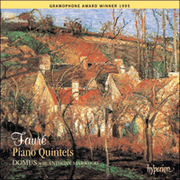 Cover of CDA66766 - Faur�: Piano Quintets
