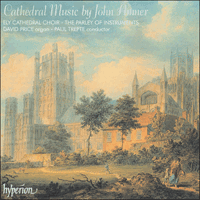 Cover of CDA66768 - Amner: Cathedral Music