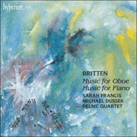 Cover of CDA66776 - Britten: Music for Oboe & Music for Piano