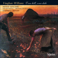 Cover of CDA66777 - Vaughan Williams: Over hill, over dale