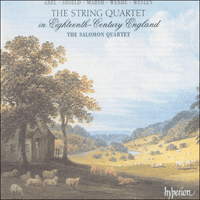 Cover of CDA66780 - The String Quartet in Eighteenth-Century England