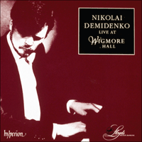 Cover of CDA66781/2 - Nikolai Demidenko live at Wigmore Hall