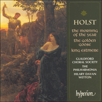 Cover of CDA66784 - Holst: Choral Ballets