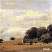 Cover of CDA66786 - Dohn�nyi: Piano Quintets & Serenade