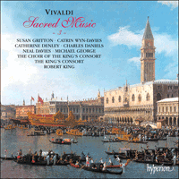 Cover of CDA66789 - Vivaldi: Sacred Music, Vol. 3
