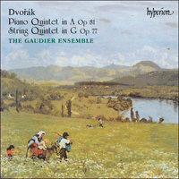 Cover of CDA66796 - Dvor�k: Piano Quintet & String Quintet