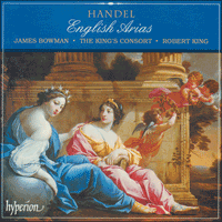 Cover of CDA66797 - Handel: English Arias