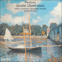 Cover of CDA66798 - Poulenc: Secular choral music