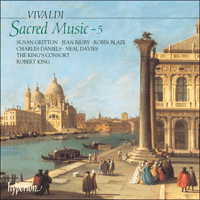 Cover of CDA66799 - Vivaldi: Sacred Music, Vol. 5