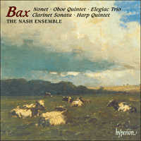 Cover of CDA66807 - Bax: Nonet & other chamber music