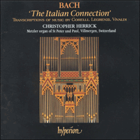 Cover of CDA66813 - Bach: The Italian Connection
