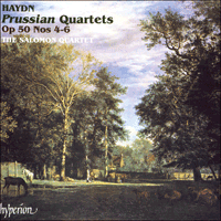 Cover of CDA66822 - Haydn: Prussian Quartets Nos 4-6