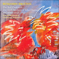 Cover of CDA66823 - Britten: The Red Cockatoo & other songs