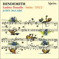 Cover of CDA66824 - Hindemith: Ludus Tonalis & Suite '1922'