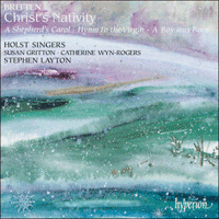 Cover of CDA66825 - Britten: Christ's Nativity & other choral works