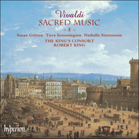Cover of CDA66829 - Vivaldi: Sacred Music, Vol. 8