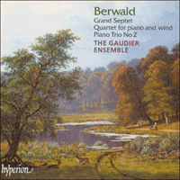 Cover of CDA66834 - Berwald: Chamber Music, Vol. 1
