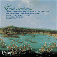Cover of CDA66839 - Vivaldi: Sacred Music, Vol. 9